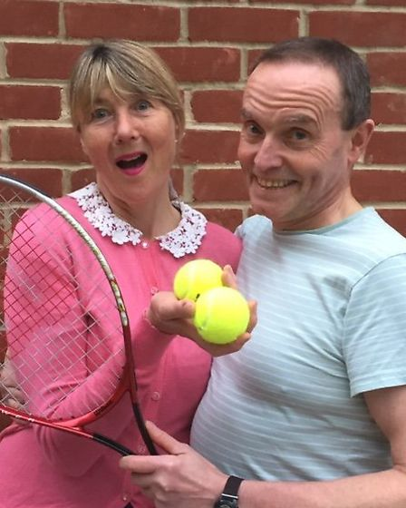 Anyone for Tennis? Heapstead Amateur Dramatic Society are serving two one- act plays plus dinner