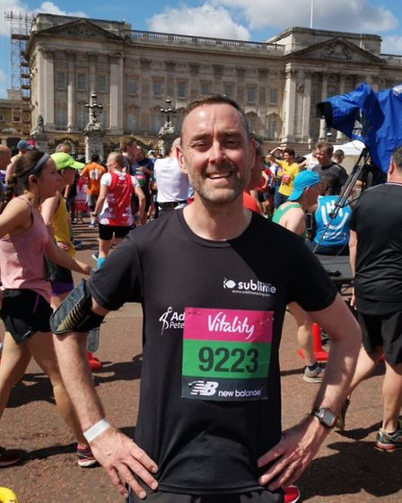 Phillip Clarke at the Vitality London 10k