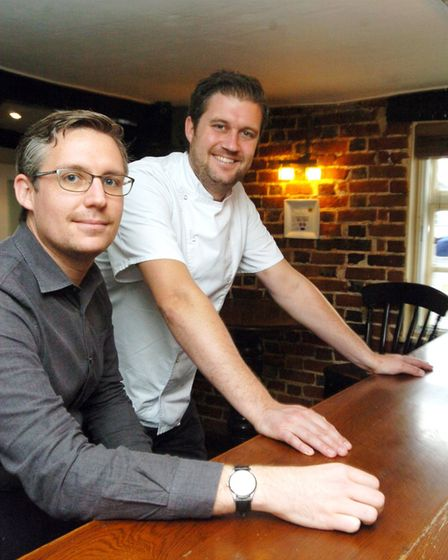 James and Tom Bainbridge of The Tilbury reached the final six in a national competition to find the
