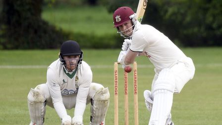 James Williams hit a century as Wisbech won at Cambridge 2nds. Picture: IAN CARTER