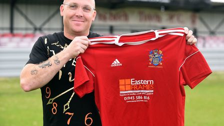 Seb Hayes has been appointed as the new Wisbech Town manager. Picture: IAN CARTER