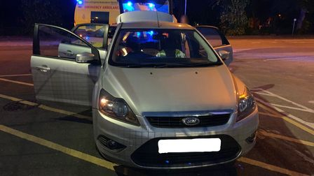 Police seized cars in Wisbech and arrested two men on suspicion of theft this weekend. Picture: CAMB