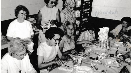 Volunteers have been helping with the Rose Fair since 1963 by preparing a range of food for churchgo