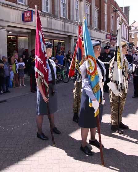Current and former service personnel will be saluted in Wisbech later this month as part of Armed Fo
