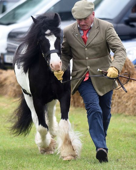 The rain didnt dampen the mood at the annual Gorefield Show 2019. Picture: IAN CARTER
