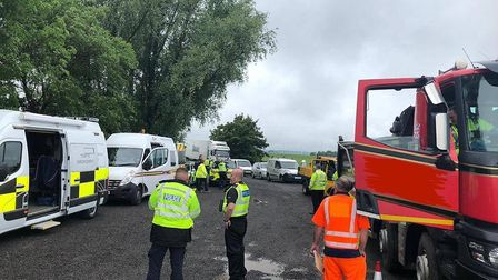 Fenland Cops' collaborative day of action targeting rural crime saw more than 130 stops in the regio