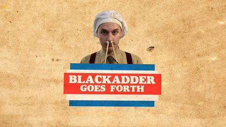 The Angles' upcoming production 'Blackadder Goes Forth' aims to support Scotty's Little Soldiers. Pi