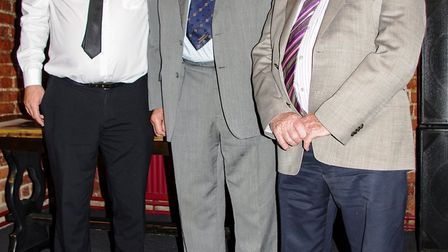John Stiles attended the monthly meet-up at Wisbech Business and Professional Men's Club. Picture: D