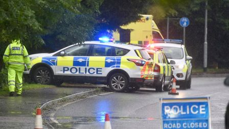 A man's body was found in bushes in Cromwell Road, Wisbech this morning by a member of the public. P