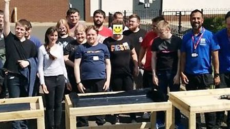 Confidence boost for Meadowgate Academy sixth formers as they get to work with Wickes mentors. The s