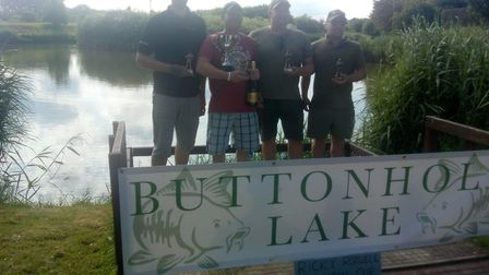 A fishing match in memory of a man who took his own life has raised more than £500 for a national su