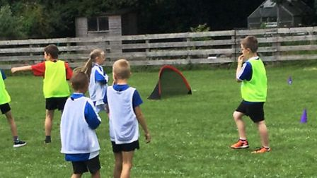 Pupils at the Elm CoE Primary Academy will aim to hone their footballing skills ahead of the new sea