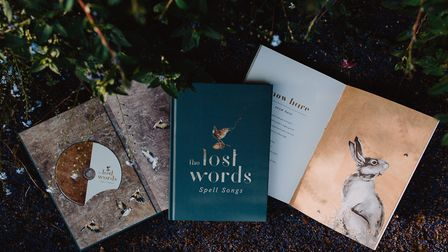 Lost Words Spell Songs CD book. Picture: Elly Lucas