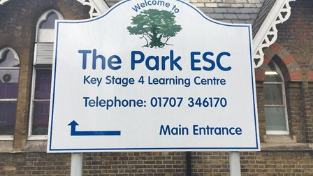 The Park Education Support Centre is currently based Potters Bar. Picture: Chris Flanagan
