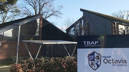 TBAP Octavia Alternative Provision (AP) Academy, in Coalwharf Road, was praised by Ofsted. Picture: