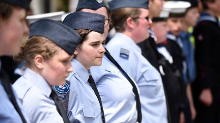 Wisbech Armed Forces Day 2019. Picture: IAN CARTER.