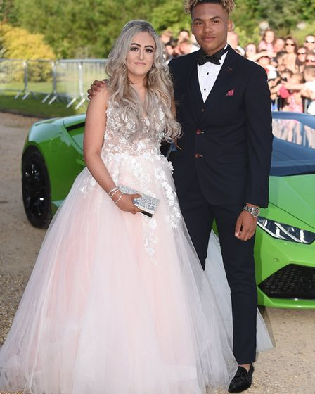 Thomas Clarkson Prom. Students celebrated end of the academic year at the Wisbech college with a mas