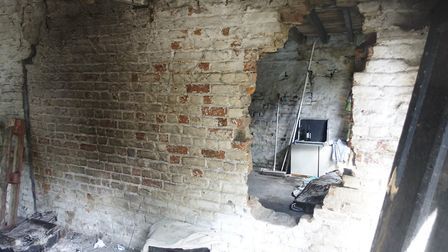Fears Wisbech's oldest house could be lost after vandalism, fire, flytipping and drug abuse. Picture