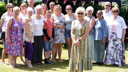It was the perfect day for Marie Humphrey who held a garden party in Gorefield to raise money for ch