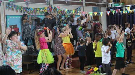 Windrush celebrations took place at Oak View School on 21 June. Picture: Supplied.