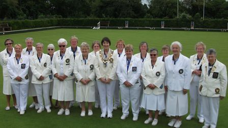 The North Cambs team beaten by Northants. Picture: SUBMITTED
