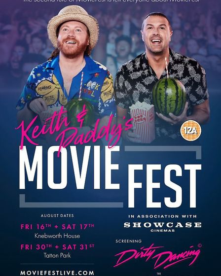 Keith Lemon and Paddy McGuiness are set to launch their first ever live cinema experience, MovieFest