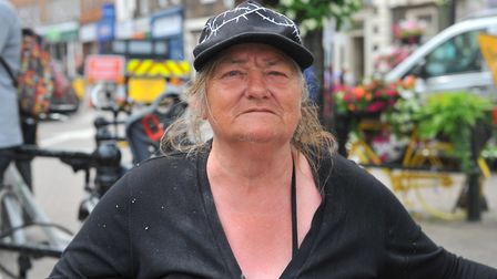 Sixty-eight-year-old homeless Carol Satt who is sleeping rough on the streets of Wisbech is pleading