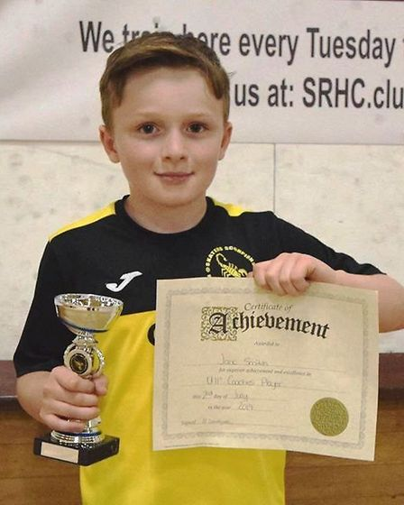 Jack Smith was crowned under 11's coaches' player and award with league goal of the season. Picture: