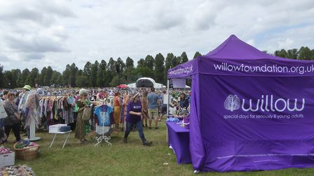 The Willow stall at Folk by the Oak 2019 at Hatfield House. Picture: Alan Davies