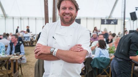 James Martin at The Game Fair 2018. The celebrity chef will be returning to the festival this week a