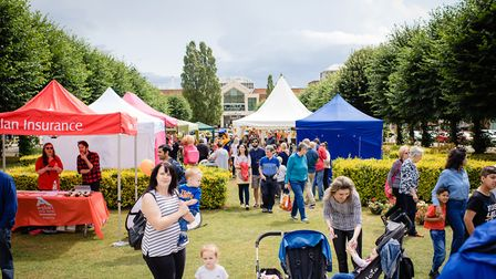 Visitors to the Garden Fair 2019 in Welwyn Garden City. Picture: Zoe Cooper Photography