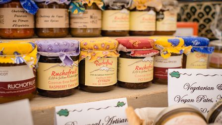 Food on display at the Garden Fair 2019 in Welwyn Garden City. Picture: Zoe Cooper Photography