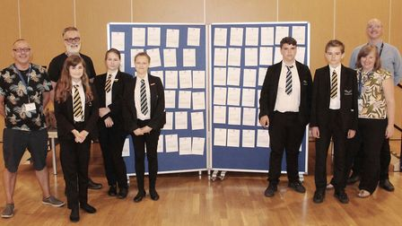 Young people learned how they could have a positive impact on the future of their town when more tha