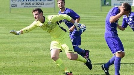 Goalkeeper Dan Smith (left) has returned to Wisbech St Mary from Peterborough Northern Star, and has
