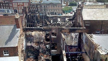 Historic former Phoenix Hotel in Wisbech to have £6,000 facelift nine years after devastating blaze.