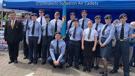 The 272 (Wisbech) Squadron Air Training Corps are holding a recruitment evening next month as they s