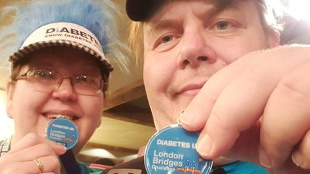 Wisbech couple Grahame and Isobel.will be lacing up their walking shoes to take on a 10 mile charity