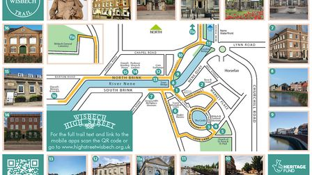 New look Wisbech heritage trail launched in time for summer holidays. Picture: FDC