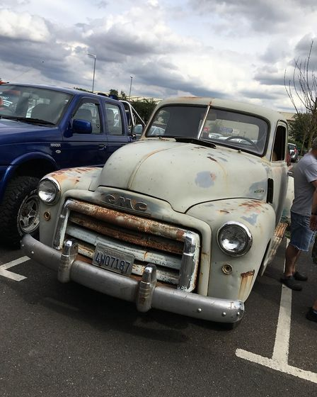 Mods and wraps! Customised cars were on display at The Light Cinema in Wisbech on the opening night