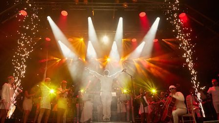 Classic Ibiza 2019 at Weston Park. The concert comes to Hatfield House on Saturday, August 31. Pictu