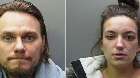 Stephen Colloton, 39, and Danielle Brown, 26, began their crime spree on 12 January 2019 in and arou