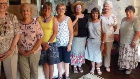 The Rainbow Patchwork and Quilters Group, based at Walpole St Peter near Wisbech, visited The Manor