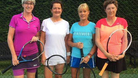 Wisbech Tennis Club rounded off a busy week of action with league success after securing promotion i