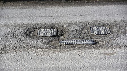 Lynn Road in Wisbech has had the most potholes reported in the whole of Cambridgeshire, new stats su