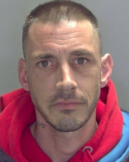 """Lee Thompson robbed an 86-year-old woman in her own home in Wisbech, leaving her """"bruised and in a v"""