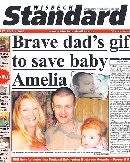 Headlines in 2009. Amelia Green, aged 11 of Walpole St Andrew scooped a haul of medals at this year'