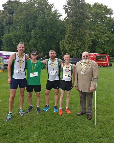 Ryston A won the 1.2k competitive race at the Summer Relays hosted by Three Counties RC