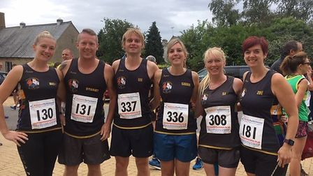 Three Counties members at the Thorney five-miler