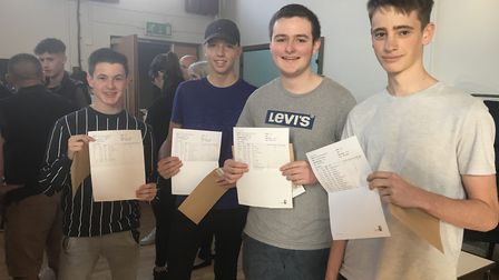 61 per cent of students at Cromwell Community College achieved GCSE grades 4-9 in English and maths.
