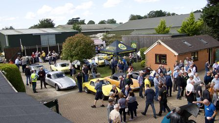 Classic car event for Isabel Hospice. Picture: John Andrews.